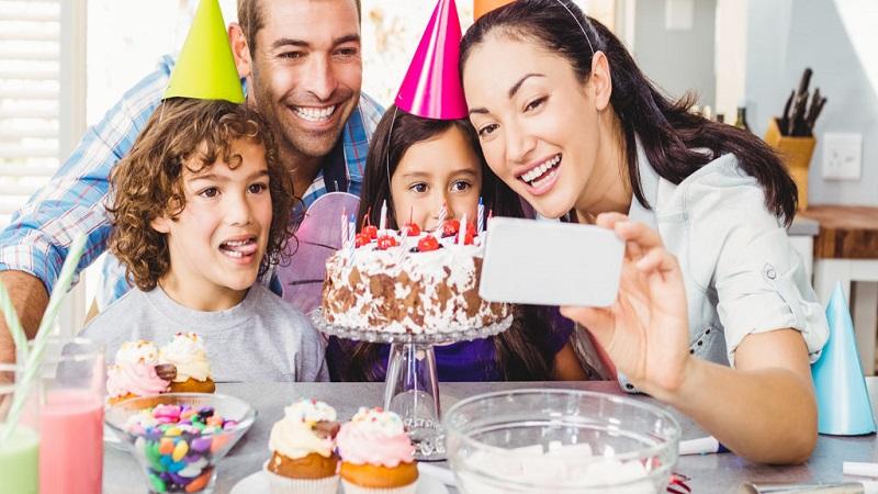 پذیرایی جشن تولد با یک میان وعده سالم